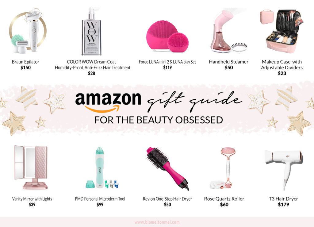 Blame it on Mei, @blameitonmei, Miami Lifestyle Mom Blogger, Christmas gifts from Amazon for the beauty obsessed