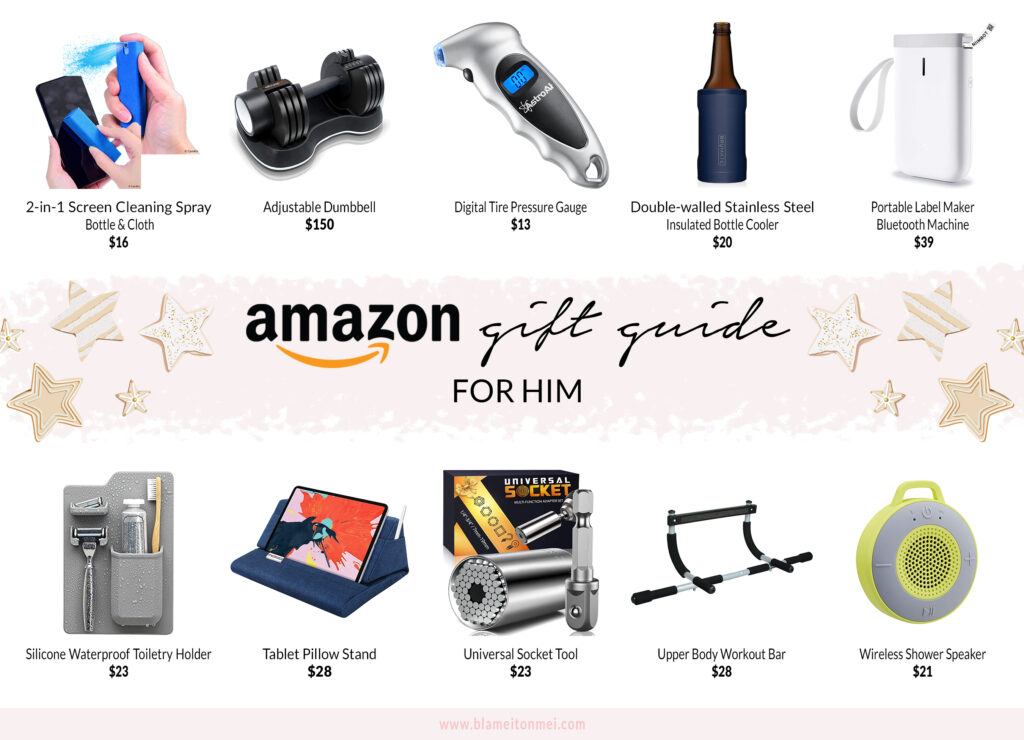 Blame it on Mei, @blameitonmei, Miami Lifestyle Mom Blogger, Christmas gifts from Amazon for him