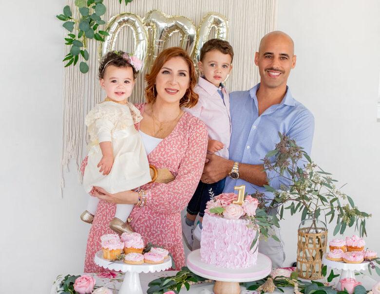 Blame it on Mei, @blameitonmei, Miami Lifestyle Mom Blogger, Vintage Boho Floral Birthday, Rose Garden Theme