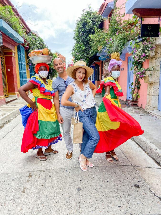 Blame it on Mei, @blameitonmei Miami Lifestyle Mom Blogger, What to do Cartagena Travel Guide, palenquera