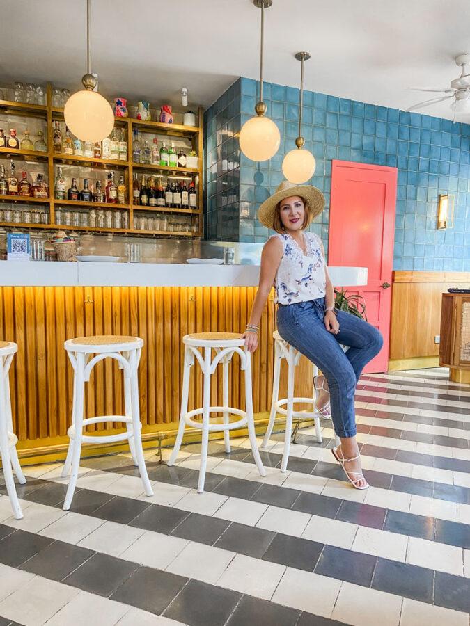 Blame it on Mei, @blameitonmei Miami Lifestyle Mom Blogger, What to do Cartagena Travel Guide, Buena vida restaurant