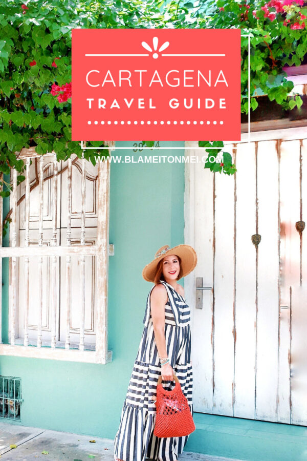Blame it on Mei, @blameitonmei Miami Lifestyle Mom Blogger, What to do Cartagena Travel Guide