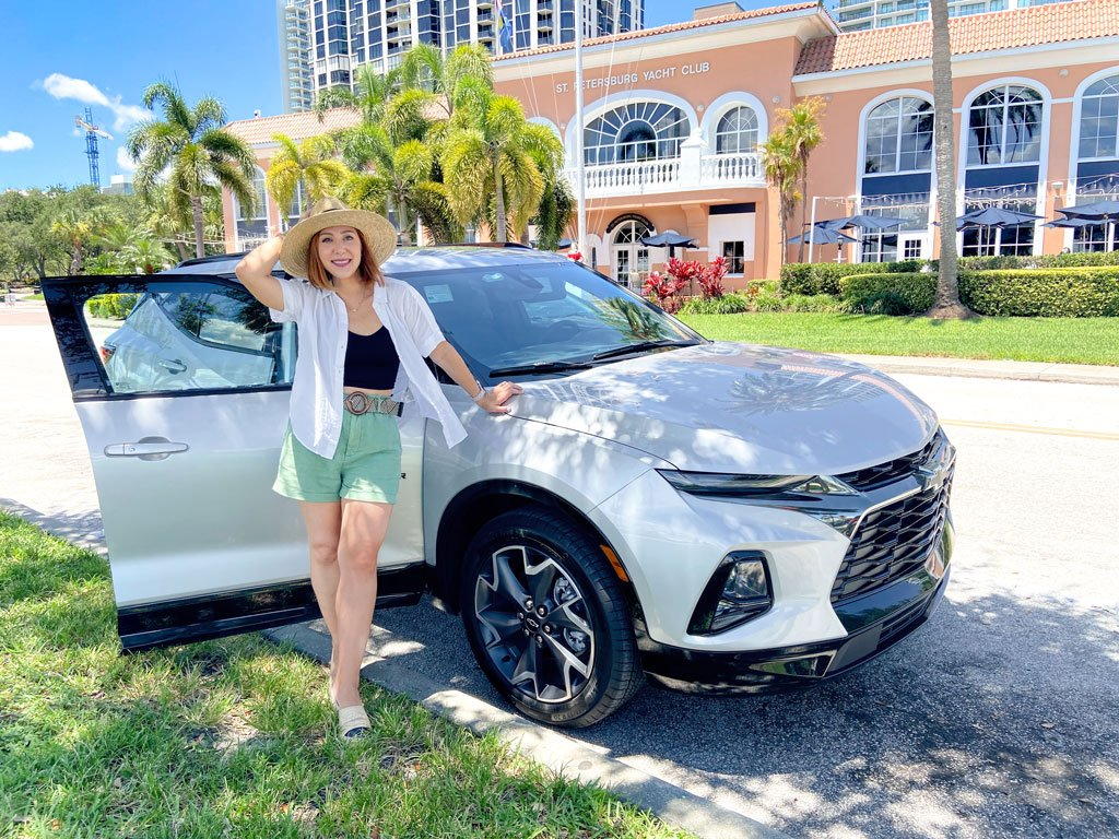 Blame it on Mei, @blameitonmei, Miami Lifestyle Mom Blogger, What to do St Petersburg with Kids, Travel Guide, Chevy Blazer