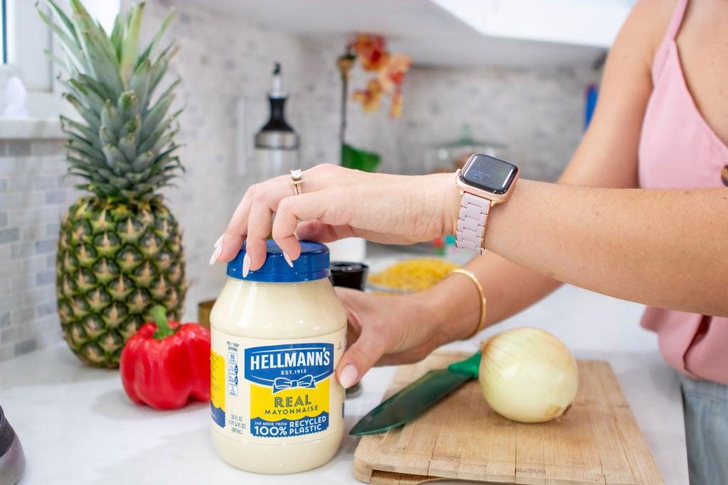Blame it on Mei, @blameitonmei, Miami Lifestyle Mom Blogger, Ensalada de Codito macaroni salad Recipe